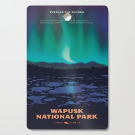 Wapusk National Park Poster Cutting Board