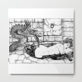 asc 356 - Le génie familier (The house spirit) Metal Print