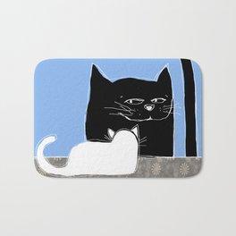 Frisky the Cat Bath Mat