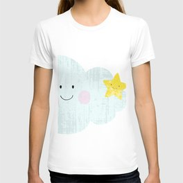 Kawaii Happy Cloud T-shirt