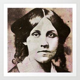Louisa May Alcott Art Print