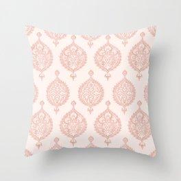 Edana Medallion in Pink Throw Pillow