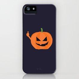 Pumpkin Spice iPhone Case