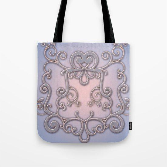 Rose Quartz Serenity Enblem Tote Bag