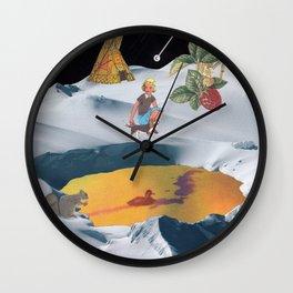 K2 Mountain Wall Clock