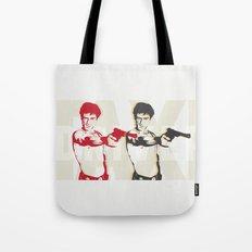 Double Travis Tote Bag