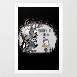 Winter Starve Art Print