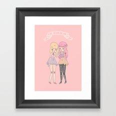 BFF's Framed Art Print