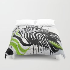 Zebra Streetstyle Duvet Cover
