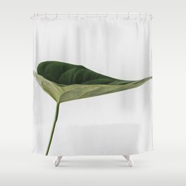 Beautiful Home Decor Green Leaf Shower Curtain