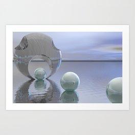 Pearl fisher Art Print