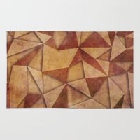 brown Area & Throw Rugs featuring Brown by jbjart