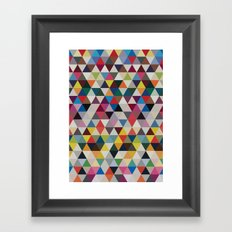 Wave of life Framed Art Print