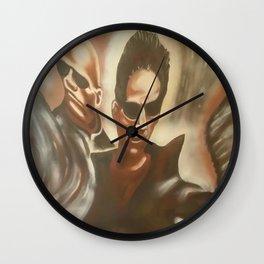 morpheus and neo Wall Clock