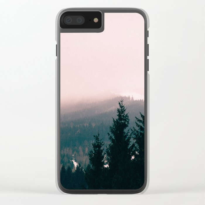 Vintage life Clear iPhone Case