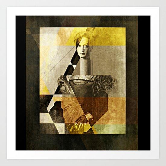 LucreziaV.9-Bronzino. Art Print