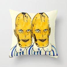 b.a.n.a.n.a.s Throw Pillow
