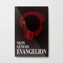 EVANGELION Metal Print