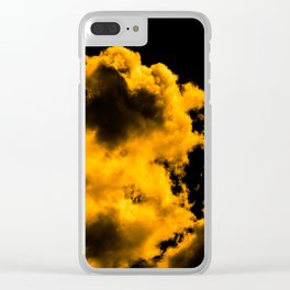 A little touch of bitterness (all yellow) Clear iPhone Case