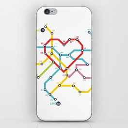Home Where The Heart Is iPhone Skin