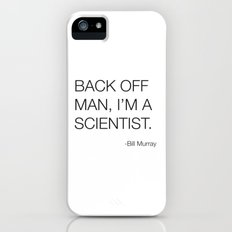Ghostbusters Bill Murray Quote iPhone SE Slim Case