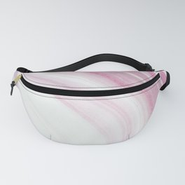 Pink Glitter Marble Fanny Pack
