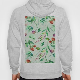 Classic Floral Pattern Hoody