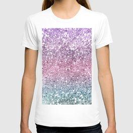 Unicorn Girls Glitter #5 #shiny #pastel #decor #art #society6 T-shirt