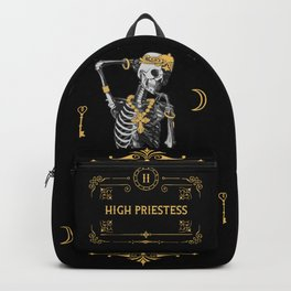 High Priestess II Tarot Card Backpack