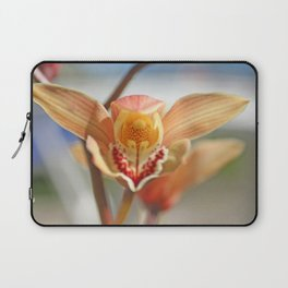 orchid flower ready to fly Laptop Sleeve