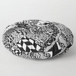 Traveler Dancers Floor Pillow
