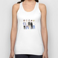 One Direction Watercolor Unisex Tank Top