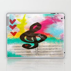 Treble Love Laptop & iPad Skin