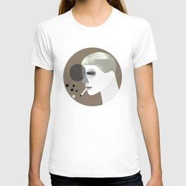White duke (round version) T-shirt