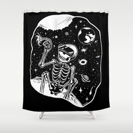 VR Galatic Trip Shower Curtain