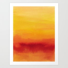 Abstract No. 185 Art Print