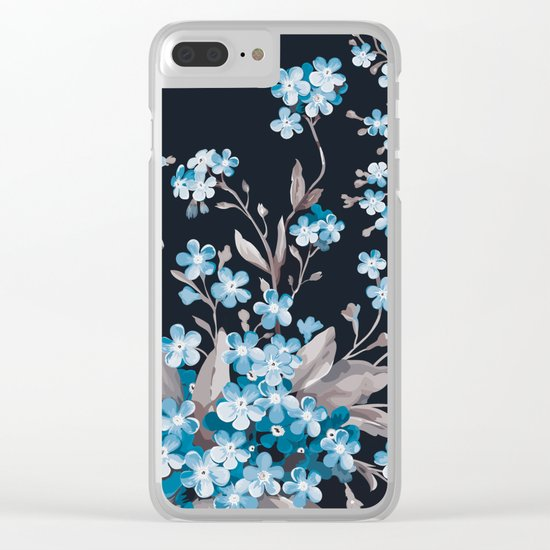 FLORAL PATTERN 3 Clear iPhone Case