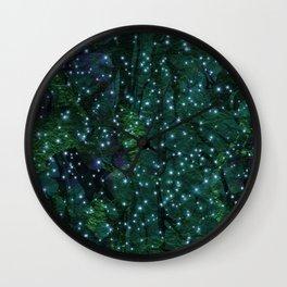 winter nights Wall Clock