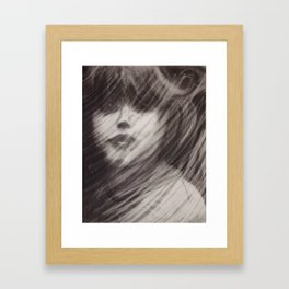 Rained Glass Framed Art Print