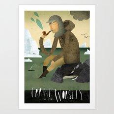 Frank Worsley Art Print
