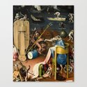 The Garden of Earthly Delights Bosch Hell Bird Man by colorfuldesigns