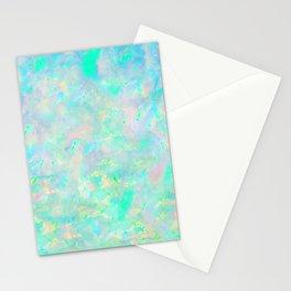 Light Blue Opal Stationery Cards