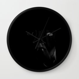 What Remains from A LOOK INSIDE Wall Clock