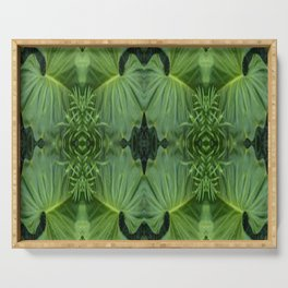 Leafy Four Serving Tray