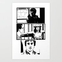 taxi driver Art Prints featuring Taxi Driver by Giuseppe Cristiano