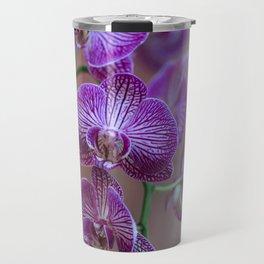 Pink Orchids Travel Mug
