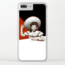 My Darling Clementine Clear iPhone Case
