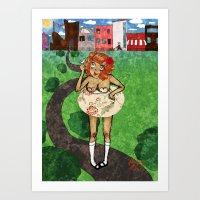 Sing For Me Art Print