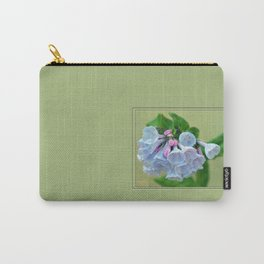 Virginia Bluebells Carry-All Pouch
