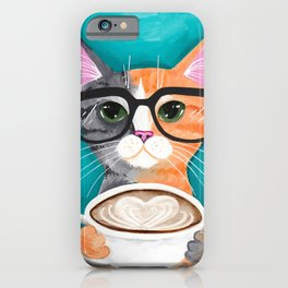 A Latte of Love iPhone Case